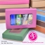 กล่องฝาครอบ ฝาสีต่างๆ ขนาด 16.0 x 25.3 x 5.0 ซม. มีหน้าต่าง thumbnail 4