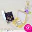 กล่อง สีทอง สีเงิน เคลือบเงา ขนาด 6.5x9.5x3.0 ซม. (บรรจุแพ็คละ 50 กล่อง) thumbnail 2