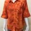 เสื้อปกเชิ้ต สีส้ม thumbnail 1