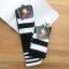 เซตถุงเท้าฟุตบอล ลายทาง สีพื้น ( 5 คู่ ) thumbnail 2