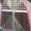 กระเป๋าใส่หมาแมวเบอร์สอง ลายสกอตสีชมพู 30 x 44 x 29 ราคา 1120รวมส่ง thumbnail 3
