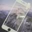 ฟิล์มกระจก iPhone6/6s Plus เต็มจอ (ขอบนิ่ม) สีขาว thumbnail 3