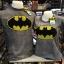 แบทแมน สีเทา (Batman gray logo black yellow) thumbnail 1