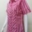 เสื้อลายสก๊อต Patino Fashion สีชมพู thumbnail 3