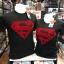 ซุปเปอร์แมน สีดำ (Superman BLACK logo RED) thumbnail 1