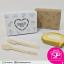 กล่อง Snack ลายหัวใจ สีขาว ขนาด 12 x 16.5 x 6 ซม. (บรรจุ 50 กล่องต่อแพ็ค) thumbnail 3