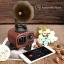 ลำโพงวินเทจ Bluetooth MUSIC APOLLO B7 ลายไม้อ่อน thumbnail 3