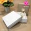 กล่องฝาครอบ ไม่มีหน้าต่าง สีคราฟน้ำตาล ขนาด 13.6 x 13.6 x 3.3 ซม. (บรรจุ 50 กล่องต่อแพ็ค) thumbnail 2