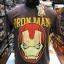 ไอรอนแมน สีเทา (Iron man yellow logo gray) thumbnail 1