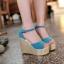 Preorder รองเท้าแฟชั่น สไตล์เกาหลี 31-43 รหัส 9DA-8577 thumbnail 4