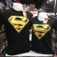 ซุปเปอร์แมน สีดำ (Superman logo GOLD) thumbnail 1