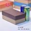 กล่องฝาครอบ ฝาสีต่างๆ ขนาด 11.6 x 19.5 x 8.0 ซม. ไม่มีหน้าต่าง thumbnail 6
