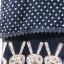 เสื้อคอกลมผ้าชีฟอง สีกรม BY Nana thumbnail 4
