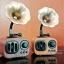 ลำโพงวินเทจ Bluetooth MUSIC APOLLO B7 ลายไม้อ่อน thumbnail 6