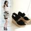 Preorder รองเท้าแฟชั่น สไตล์เกาหลี 34-42 รหัส 914-0525 thumbnail 1