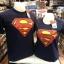 ซุปเปอร์แมน สีกรม (Superman blue logo red 938) thumbnail 1
