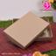 กล่องฝาครอบ ไม่มีหน้าต่าง สีคราฟน้ำตาล ขนาด 11.0 x 16.5 x 3.0 ซม. (บรรจุ 50 กล่องต่อแพ็ค) thumbnail 1
