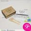 กล่อง Snack ลายหัวใจ สีขาว ขนาด 12 x 16.5 x 6 ซม. (บรรจุ 50 กล่องต่อแพ็ค) thumbnail 2
