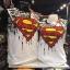 ซุปเปอร์แมน สีขาว (Superman logo arm black CODE:0729) thumbnail 1