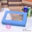 กล่องฝาครอบ ฝาสีต่างๆ ขนาด 16.0 x 25.3 x 8.0 ซม. มีหน้าต่าง thumbnail 3