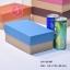 กล่องฝาครอบ ฝาสีต่างๆ ขนาด 11.6 x 19.5 x 8.0 ซม. ไม่มีหน้าต่าง thumbnail 3