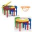 โต๊ะเลโก้ ทรงกลม Tot Tutors 2-in-1 Plastic Construction Table & Chair Set