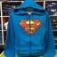 ซุปเปอร์แมน เสื้อกันหนาวฮู้ด (Superman blue logo CODE:0898) thumbnail 1