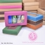 กล่องฝาครอบ ฝาสีต่างๆ ขนาด 16.0 x 25.3 x 5.0 ซม. มีหน้าต่าง thumbnail 1
