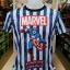 มาร์เวล ผ้า premium SCUBA (Captain America blue and white CODE:1379) thumbnail 1