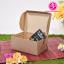 กล่อง Snack สีน้ำตาล ขนาด 11.0 x 15.0 x 7.0 ซม. (บรรจุ 50 กล่องต่อแพ็ค) thumbnail 2