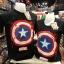 กัปตันอเมริกา (Captain logo shield watercolor CODE:1301) thumbnail 1