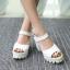 Preorder รองเท้าแฟชั่น สไตล์เกาหลี 32-44 รหัส 55-5432 thumbnail 1