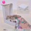 กล่องชิ้นเดียวฝาเปิดด้านบน สีขาว ธรรมชาติ ขนาด 15 x 15 x 5 ซม. (บรรจุ 50 กล่องต่อแพ็ค) thumbnail 2