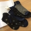 เซตถุงเท้า สีพื้น ลายผสม ( 5 คู่ ) thumbnail 1