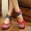 Preorder รองเท้าแฟชั่น รองเท้าผู้หญิง รองเท้าส้นเตี้ย 34-41 รหัส 57-8293 thumbnail 1