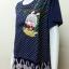 เสื้อคอกลมผ้าชีฟอง สีกรม BY Nana thumbnail 5