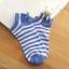 เซตถุงเท้า ลายทาง สีผสม ( 6 คู่ ) thumbnail 6
