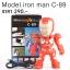 ลำโพงบลูทูธ iron man C-89 สีแดง thumbnail 1