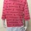 เสื้อผ้าคนอ้วนคอกลม ABC Fashion สีชมพู thumbnail 4