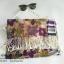 เซตผ้าพันคอ ลายดอกไม้ thumbnail 6