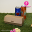 กล่องฮอทดอก ขนาด 6.5x16.5x6.5ซม สีคราฟธรรมชาติ (บรรจุแพ็คละ 50 กล่อง) thumbnail 2