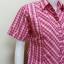 เสื้อลายสก๊อต Patino Fashion สีชมพู thumbnail 2