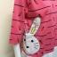 เสื้อผ้าคนอ้วนคอกลม ABC Fashion สีชมพู thumbnail 2