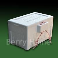 กล่องโฟมและน้ำแข็งแห้ง