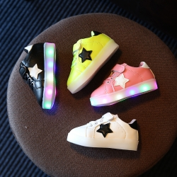 Baby Touch รองเท้าเด็ก รองเท้าไฟกระพริบ All Star (Shoes - FLC1)