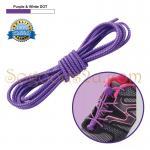 เชือกผู้รองเท้าพร้อมตัวล็อค shoestring lock NewStyle สีม่วง / purple
