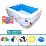 Baby Touch ของเล่นเด็ก สระว่ายน้ำเด็ก ทรงมาตรฐาน (ใหญ่)