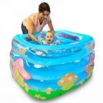 Baby Touch ของเล่นเด็ก สระว่ายน้ำเด็กทารก ทรงอ่างน้ำ (เห็ดมาริโอ้)