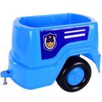 ของเล่นเด็ก รถนั่งไถ แล่นฉิว (กระบะพ่วงน้ำเงิน)