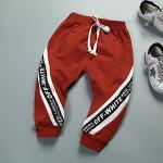 กางเกงเด็ก Jumper (OFF_White แดง)